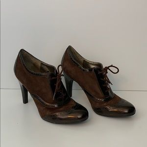 Bandolino Heels Size 8 Brown on Brown